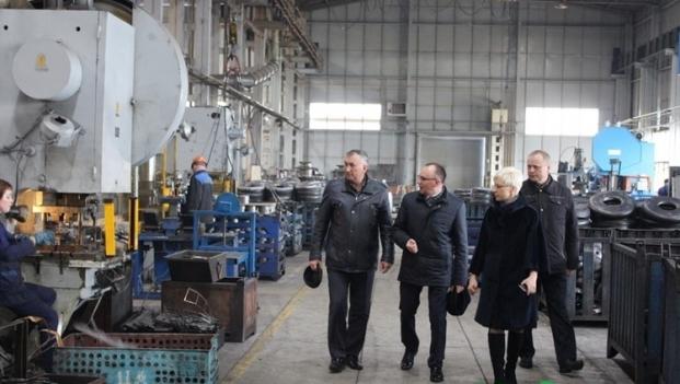 Посещение завода в Новогрудчине