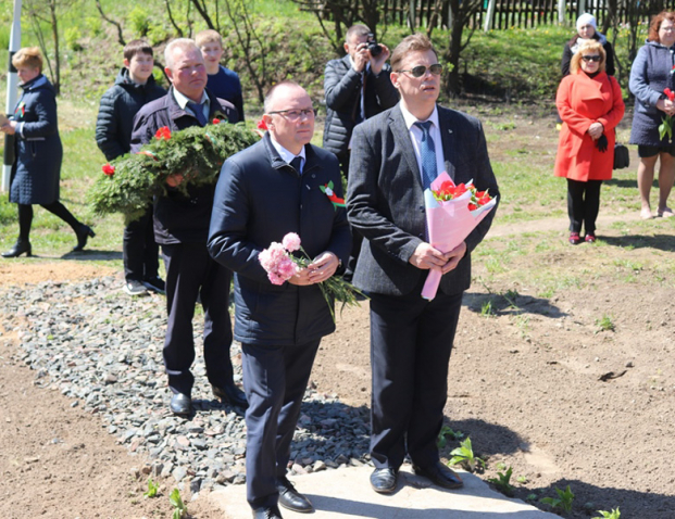 Депутат Александр Сонгин почтил память Сергея Болгарина